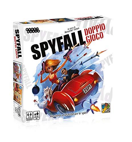 dV Giochi- Spyfall-Doppio unter dem VOI verbirgt Sich eine Spia zu verstecken. Dove SI Trova-Edizione Italiana, Mehrfarbig, DVG9363