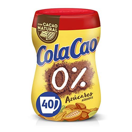 ColaCao 0{b29c9ebe7dd395ae9bd9aee08a1c04d4180a94ba38a01a318a7b8435c0c8a18e} Azúcares añadidos - 300g