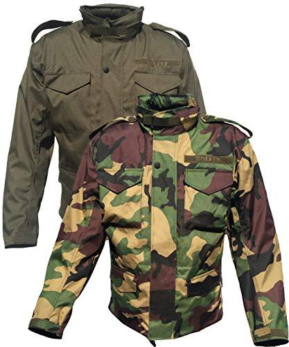 Motorradjacke M65 Camouflage, Flecktarn, Army, Feldjacke, Woodland