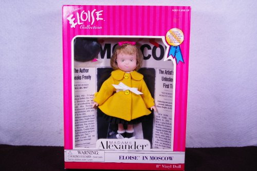 Eloise in Moscow 8' Vinyl Doll By Madame Alexander