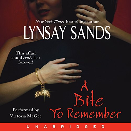 A Bite to Remember audiobook cover art