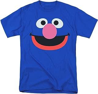 Sesame Street Grover Face T Shirt & Stickers