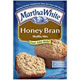 Martha White Muffin Mix Honey Bran 7.4 oz. (Pack of 6)