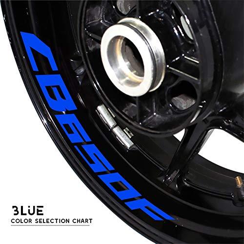 Uytkagz Pegatina de neumáticos de la Motocicleta Pegatina Reflectante Cinturón de la Bicicleta Decoración de la decoración Fresca Etiqueta engomada Impermeable Ajuste for Honda CB650F CB 650F