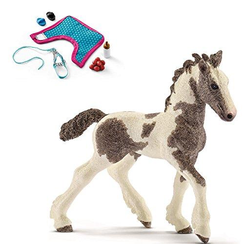 Horseclub Schleich - 13774 Tinker Fohlen + 42367 Fohlenpflege