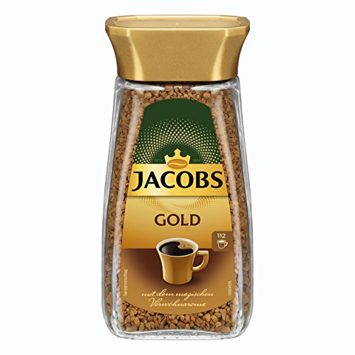 Jacobs Gold Löslicher Kaffee, 6er Pack (6 x 200 g)