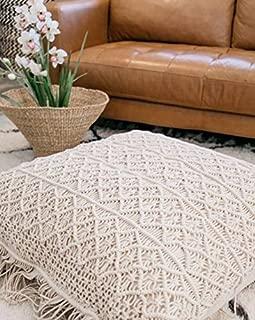 Best macrame floor cushion Reviews