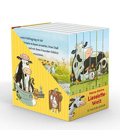 Meine kleine Lieselotte-Welt (Würfel): 6 Mini-Bücher (Pappbilderbuch Bücher-Würfel, Band 9)