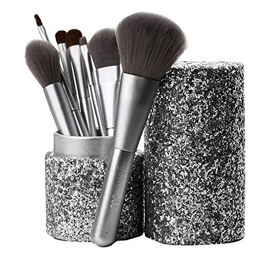 Makeup Brush 10 Piece Set Golden Makeup Brush Set Foundation Mineral Eye Makeup Brush Holder