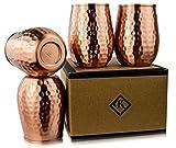 Kosdeg Copper Cups 16 Oz set of 4 -...