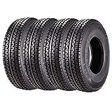 ST235/85R16 Trailer Tires Set of 4 14 ply Heavy Duty Premium Radial DOT Trailer Tire 235 85 16 Load Range G 129L