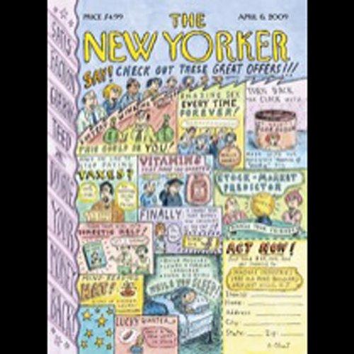The New Yorker, April 6th, 2009 (Tad Friend, Seymour Hersh, James Surowiecki) cover art