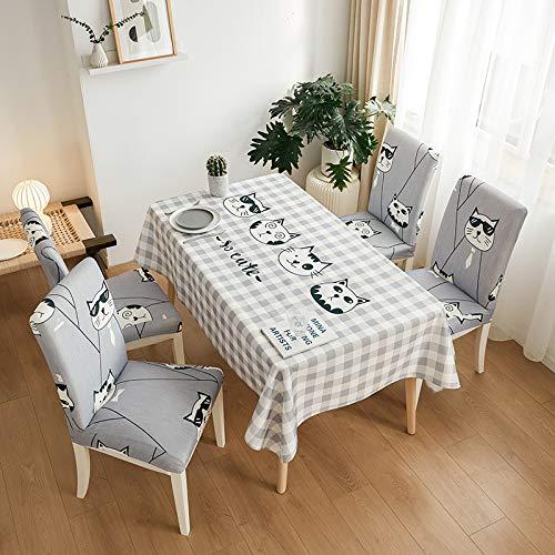 sans_marque Paño de mesa, mantel de fiesta, mantel de mesa, mantel de tela de mesa para interiores o exteriores, cumpleaños, boda Navidad70*180cm