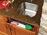 Rev-A-Shelf 6581 Series Stainless Steel 19-inch Tip-Out Tray...