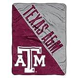 The Northwest Company Texas A&M Aggies 'Halftone' Micro Raschel Throw Blanket, 46' x 60' , Red