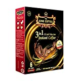 King Coffee 3in1 instant - Box 6 sticks x 16g | Vietnamese Coffee, Long-lasting Aroma & Balance Taste | Perfect for Powerful day - Single