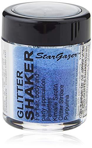 Paillettes à saupoudrer corps et visage - Stargazer - couleur : violet - fluorescent sous lumière noire (UV)