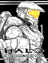 Halo Coloring Book: 35+ exclusive illustrations for Halo fans