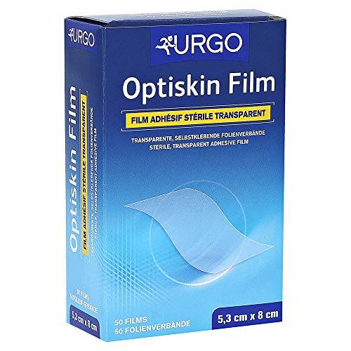 Optiskin film steriles Pflaster 53 x 80 mm 50 Stück