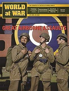 DG: World at War Magazine #72, with Paratrooper, Great Airborne Assaults: Palembang & Primosole Bridge, Boardgame