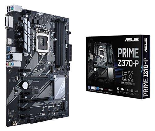 Asus Prime Z370-P Gaming Mainboard Sockel 1151 (ATX, Intel Z370, Coffeelake, 4x DDR4-Speicher, USB 3.1, M.2 Schnittstelle)