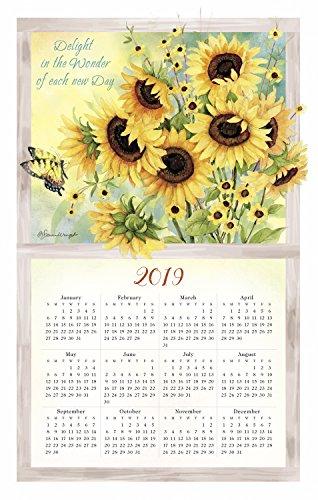 Nature's Palette 2019 Calendar Towel