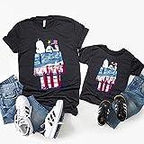 Peánut Shirt Funny Snoopys USA T-shirt...