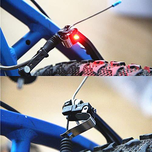 Mini freno bicicleta luz montaje cola trasera bicicleta luz Ciclismo luz LED alto brillo impermeable lámpara LED Ciclismo Accesorios