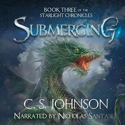 Submerging audiobook cover art