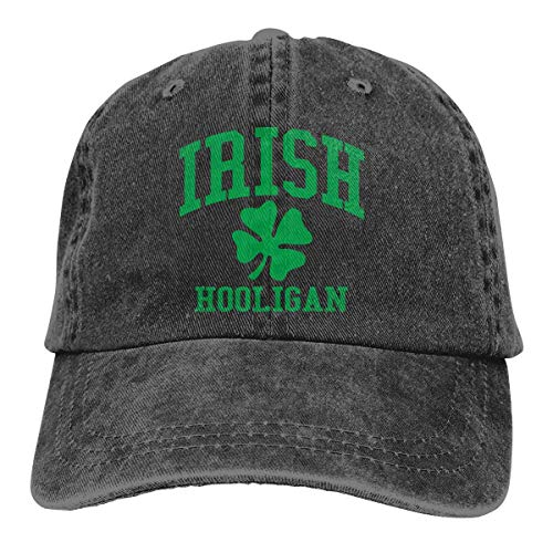 Hoswee Unisex Kappe/Baseballkappe, Irish Hooligan Men/Women Fashion Adjustable Baseball Cap Jeanet Back Closure Hat
