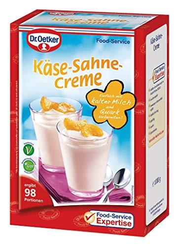 Dr. Oetker Professional Käse-Sahne-Dessertcreme, Dessertpulver in 1 kg Packung