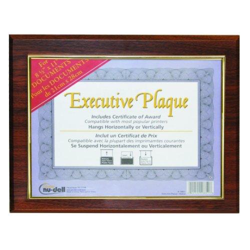 Walnut Plaque Award - 1