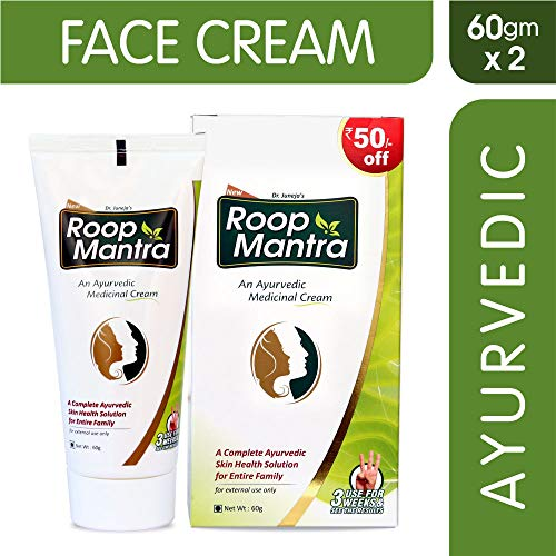 Roop Mantra Ayurvedic Cream For Men And Women, 60g...