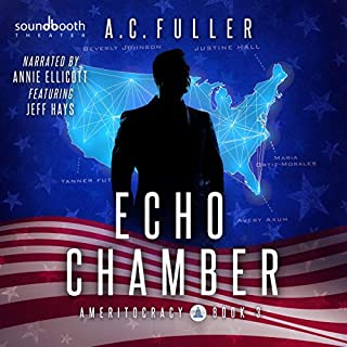 Echo Chamber audiobook cover art