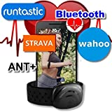 BerryKing Sportbeat Bluetooth & ANT+ para Garmin Polar Wahoo RUNTASTIC STRAVA ENDOMONDO TomTom Apple iPhone Android Arm Strap brazalete Heart Rate Monitor HRM Sensor