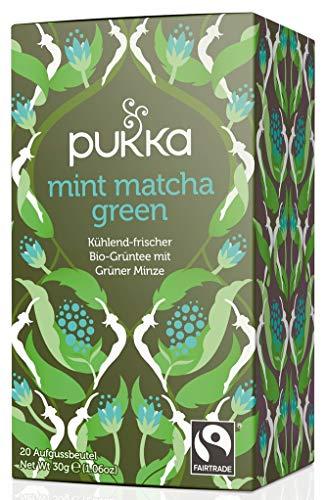 Pukka Bio-Tee MINT Machta Green, 4er Pack (4 x 20 Stück)