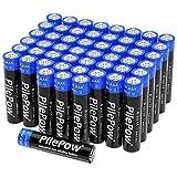 PilePow 52 Unidades, Pilas alcalinas AAA, Industrial 1.5 V LR03