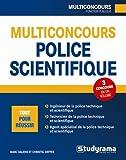 Multiconcours police technique et scientifique
