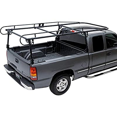 7BLACKSMITHS Full Size Truck Contractors Rack Ladder Pickup Kayak Lumber Rack Side Bar Long Cab?You Will get 2 Boxes?