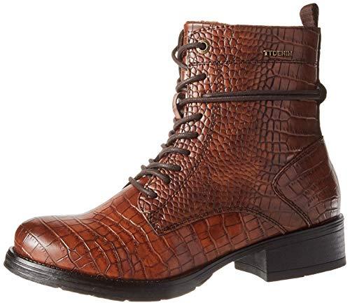 Tom Tailor Womens 9095701 Mid Calf Boot Bootie Boot, Mocha, 5.5 UK