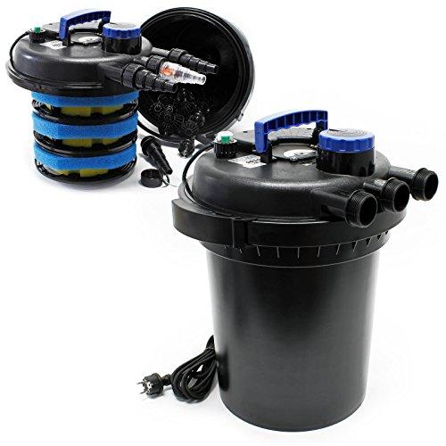 Sunsun CPF-250 Druckteichfilter mit integrierter UVC Einheit 11W für Teiche bis 10000 Liter