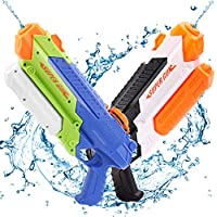 2-Pack Ospetty 900CC Water Soaker Blaster Guns, Up to 32Feet