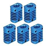 Disipador De Calor De Aleación De Aluminio para Impresora, Radiador De Disipador De Calor para Impresora 3D Conveniente para Llevar Tamaño Pequeño para Su Impresora 3D