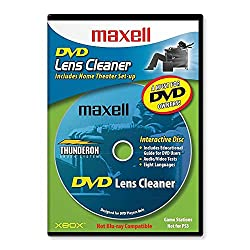 commercial Maxell 190059 DVD Lens Cleaner with Hardware Customization and Extensions Only ps3 lens cleaner