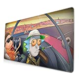 Professional Gaming Mouse Pad XL,Anime Mousepad with Anti-Skid Rubber Base & Stitched Anti-Fray Edges,Waterproof Mouse Mat,Desk Pad,Great for Laptop Computer & PC 11.8x23.6x0.12 inch
