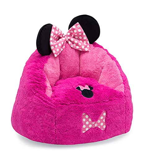 Disney Minnie Mouse Cozee Figural Chair by Delta Children, Toddler Size (for Kids Up to 6 Years Old)