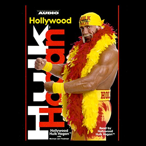 Hollywood Hulk Hogan audiobook cover art