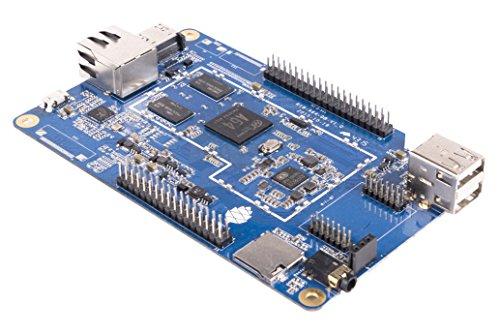 PINE64 PA642GB/WPBT-Retail - Ordenador de una Sola Placa (WiFi, procesador Arm Cortex A53 1.2 GHz, Memoria integrada de 2 GB, Android 5.1) Blanco