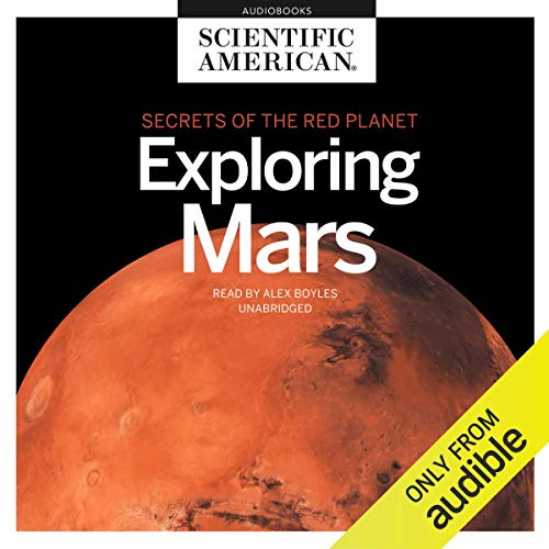 Exploring Mars audiobook cover art