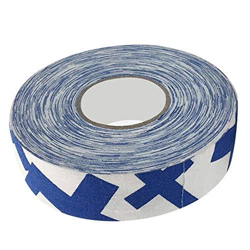 Badmintonband Hockeyband Hockeyschlägerband,Badminton-Pole-Pads Badminton-Pole-Tape, verschleißfestes Hockey-Schutzband, Hockey-Stick-Tape(Blue Plus)